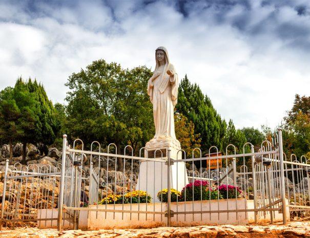 Medjugorje statue